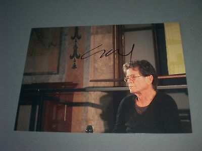 Lou Reed  signed signiert autograph Autogramm auf 13x18 Foto in person