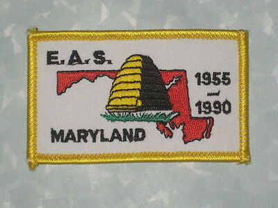 "E.A.S. Maryland Patch - 3 1/4"" x 2"""