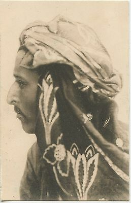Carte Postale / Postcard / Tunis Portrait Photo Lhenert & Landrock