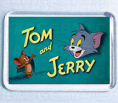 TOM and JERRY  FRIDGE MAGNET -  Retro Cool!  Style 'B'