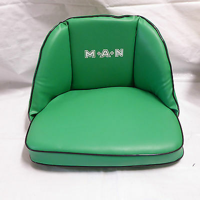Man Seat Pad with Embossing FOR TRACTORS NEW