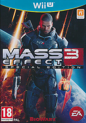 Mass Effect 3 Special Edition For PAL Wii U (New & Sealed)