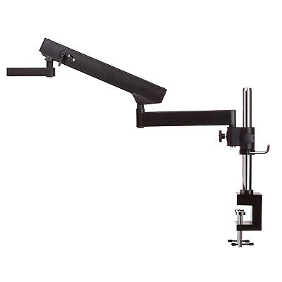 AmScope APC-NF Articulating Stand with Post Clamp for Stereo Microscopes