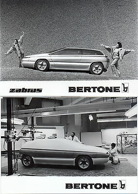 Bertone Zabrus (based on Citroen BX 4TC) 2 original press photos