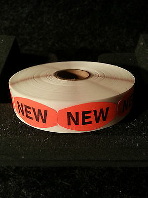 "1.5"" x .75"" NEW LABELS 1000 ea PER ROLL 1M/RL free shipping STICKERS"