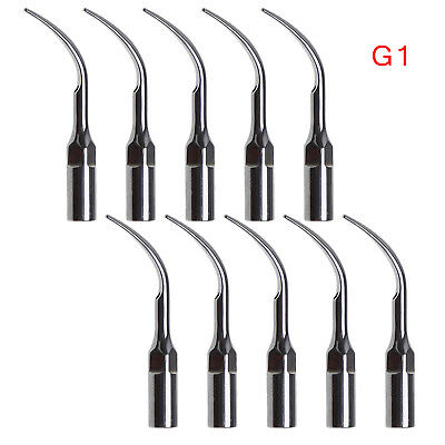 10x Dentair Dental Ultrasonic Piezo Scaler Tips G1 fit EMS Woodpecker Handpiece