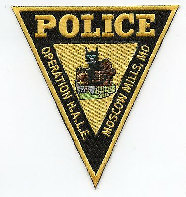 MOSCOW MILLS MISSOURI MO Operation HALE POLICE PATCH