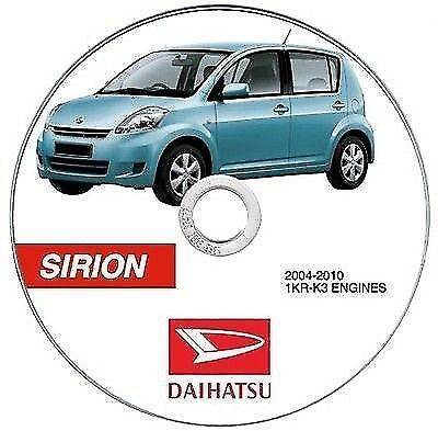 Daihatsu SIRION (2nd series) manuale officina workshop manual