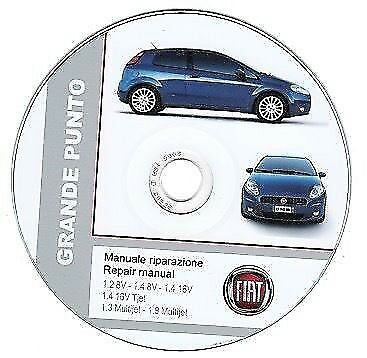 Fiat Grande Punto manuale officina - repair manual