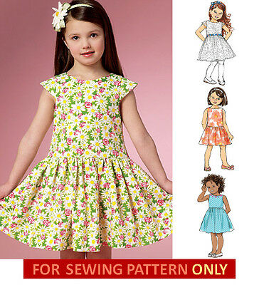 6bc3c57f160 Sewing Pattern! Make Girls Dress~Sundress! Summer Clothes~Outfit Size 2~