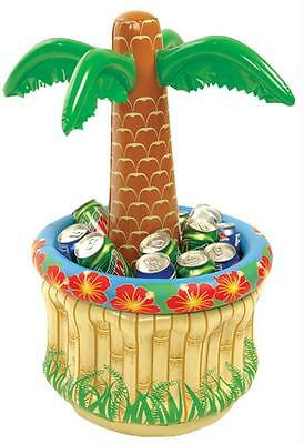 """26"""" Inflatable Cooler Palm Tree Tropical Summer Pool Party Decoration Ff551872"""