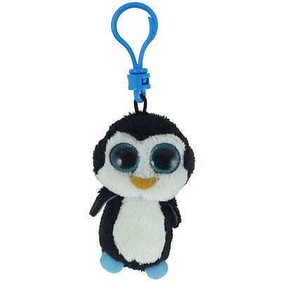TY Beanie Boos - WADDLES the Penguin (Key Clip - 3 inch) - MWMT's