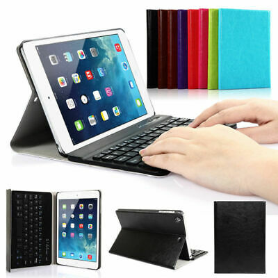 For Apple IPAD MINI 1/2/3 Bluetooth Keyboard Leather Case Cover Wireless Stand
