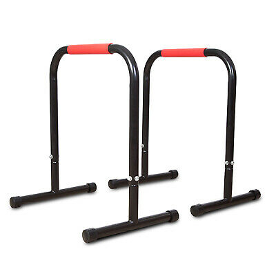LIFESPAN Parallette Parallel Bars Equalizer Stands Cross Training Dips Home/Gym