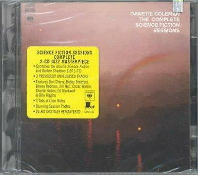 Complete Science Fiction Sessions - Ornette Coleman Compact Disc Free Shipping!