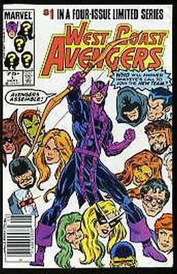 West Coast Avengers #1-4 Near Mint 1984