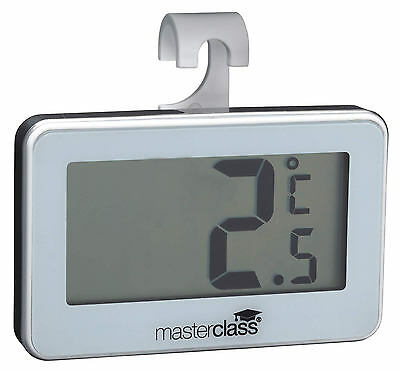 Masterclass Large Display Digital Electronic Fridge & Freezer Thermometer