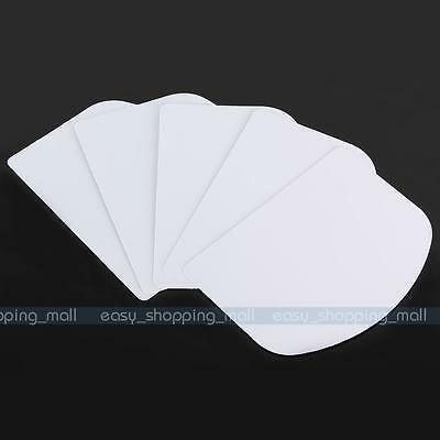 5pc/Set Plain Edge Icing Side Scrapers Smoother Cake Decorating Sugarcraft Tool