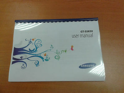 SAMSUNG GT-S5830i PRINTED INSTRUCTION MANUAL 131 PAGES