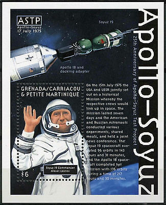 Grenadines Grenada 2000 SG#MS3018 Apollo-Soyuz, Space MNH M/S #A89697