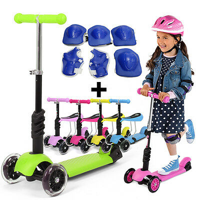 fascol 125mm 3 r dern kinderroller scooter tretroller. Black Bedroom Furniture Sets. Home Design Ideas