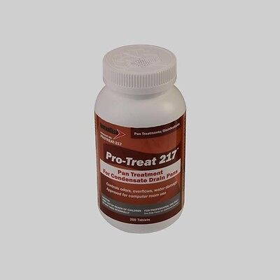 DIVERSITECH Pro-Treat® 217 Economy Drain Pan Treatment – 200 Tablets/Jar