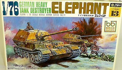 ELEPHANT German Heavy Tank Destroyer Fujimi WA13 1:76  LF4 å