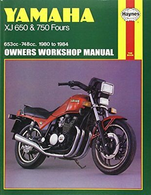 Yamaha XJ650 and 750 Fours 1980-84 Owner's Workshop Manual-Pete Shoemark