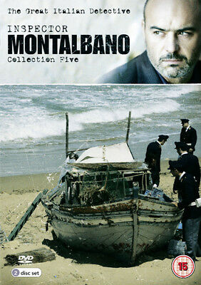 Inspector Montalbano: Collection Five DVD (2013) Luca Zingaretti ***NEW***