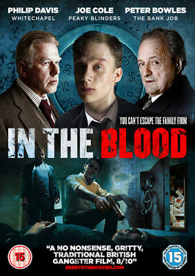 In the Blood DVD (2015) Joe Cole ***NEW***
