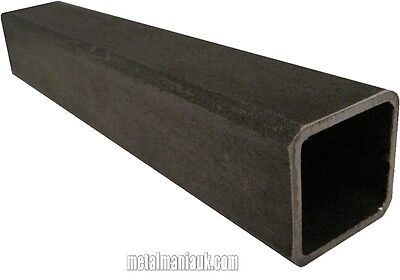 Steel box section 25 x 25 to 100 x 100 x various wall thickness x lengths