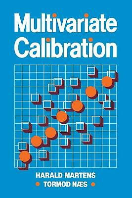 Multivariate Calibration by Harald Martens (English) Paperback Book Free Shippin