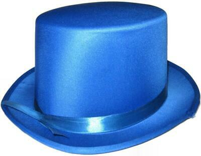 Top Hat Satin Ribbon Costume Accessory Dance Theatre Stage Performance 9 Colours