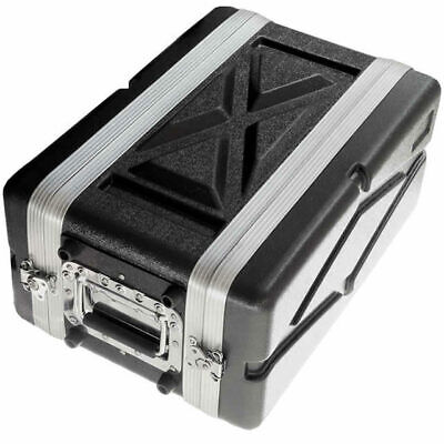 ABS 4U Shallow Effects Rack Case  Durable Lightweight 2 Year Warranty DP Stage