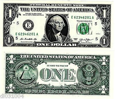 Etats UNIS AMERIQUE USA Billet 1 $ Dollar 2013 WASHINGTON NOUVEAU NEW NEUF UNC