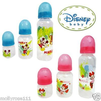 Genuine Licensed Disney Feeding Bottle x1 BPA Free Suitable Baby Girls Boys