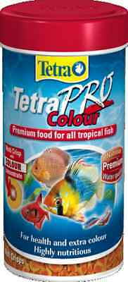 TETRA TETRAPRO COLOUR PREMIUM TROPICAL FISH FOOD 55g/250ml 4004218143616