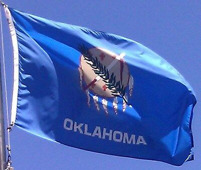OKLAHOMA STATE OF FLAG NEW 3x5 ft