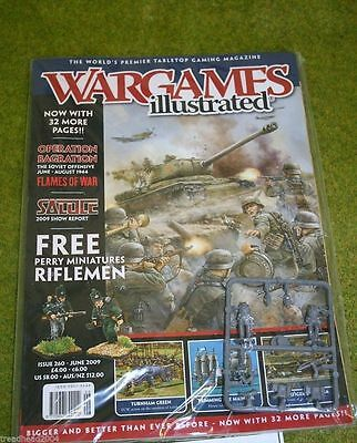 WARGAMES ILLUSTRATED ISSUE 260 June 2009 Back Copy from publisher