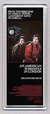 AN AMERICAN WEREWOLF IN LONDON large fridge magnet - The 80's CLASSIC!