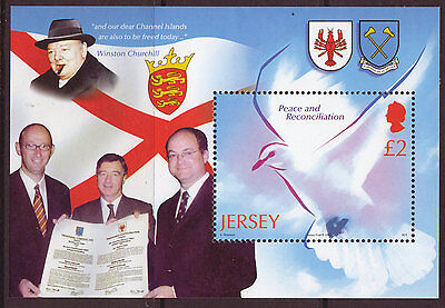 Jersey 2005 Liberation Of Channel Islands Unmounted Mint, Mnh