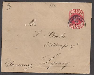 *Trinidad Embossed Wrapper SC# 2 To Germany