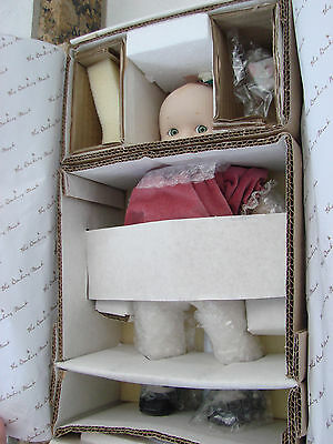 1997 Danbury Mint Kewpie~ A Gift Of Love Porcelain Doll New In Box ,no papers