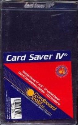 100ct Card Saver 4 - Semi Rigid Sports Card Holder - Baseball Card Holder