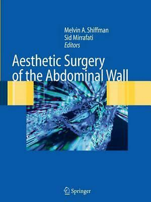Aesthetic Surgery of the Abdominal Wall (English) Paperback Book Free Shipping!
