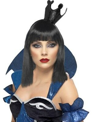 Evil Queen Crown Adult Womens Smiffys Fancy Dress Costume Hat