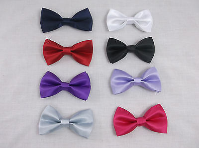 Childrens Bow Tie Kids Bow Tie Childrens Black Bow Tie Red Bow Tie Navy Bow Tie