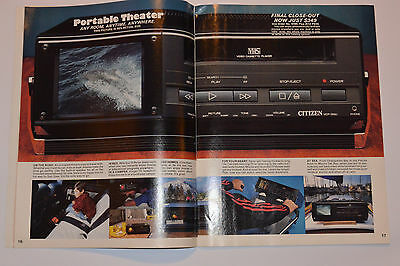 Vintage 1988 Consumer Electronics Catalog! $2000 Home Computer/boombox/stereos++