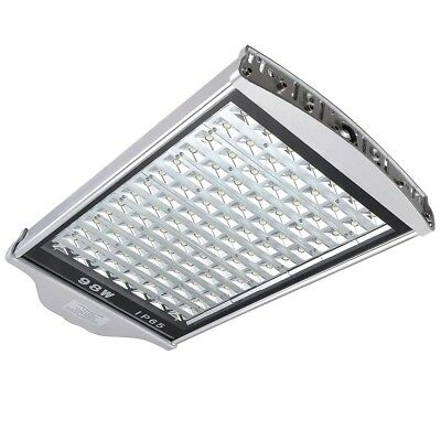 98 LED Street Road Outdoor Yard Garden Industrial Lamp Light 98W Cool White IP65
