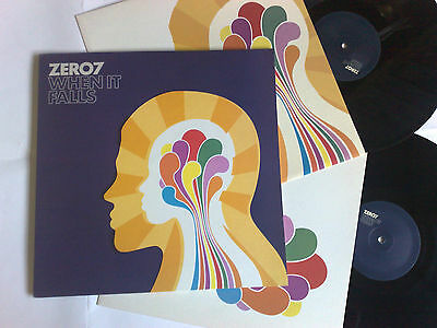 Zero7 When It Falls 2004 Ultimate Dilemma 2 Lps With Inner Sleeve 5050467098718